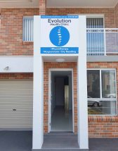 cabramatta physiotherapy, exterior evolution health clinic outside, Canley Heights Physiotherapy