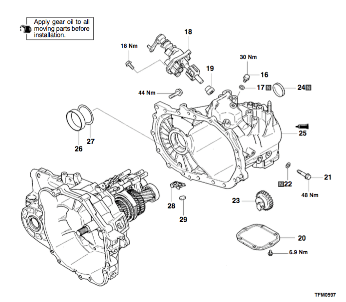 How-To: Disassemble/Assemble F5M42 Manual Transmission