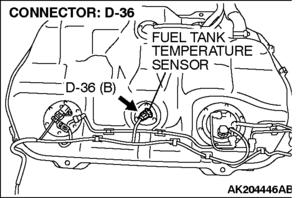 DTC P0183: Fuel Tank Temperature Sensor Circuit High Input