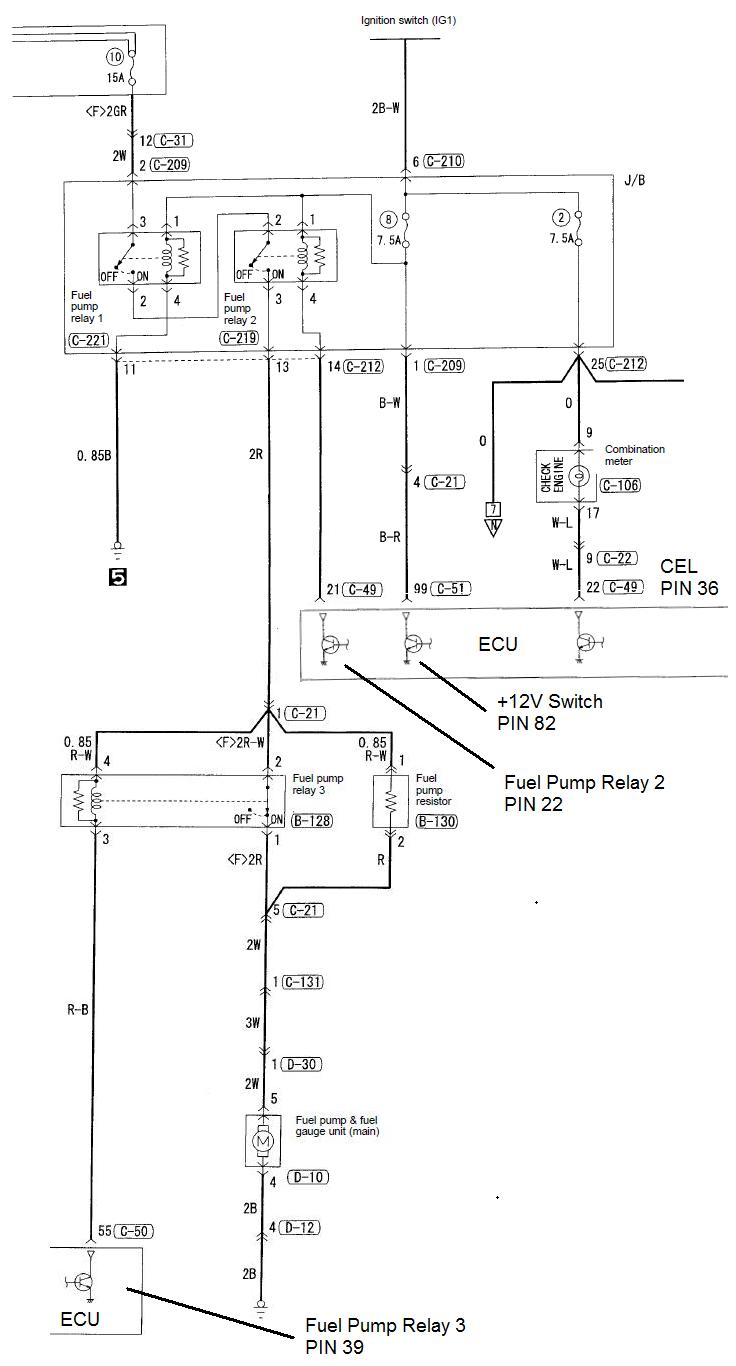 Evo 8 Fuel Pump Wiring Diagram : 30 Wiring Diagram Images