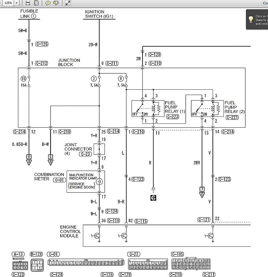 Need fuel pump relay diagram