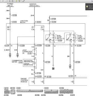 Need fuel pump relay diagram  evolutionm