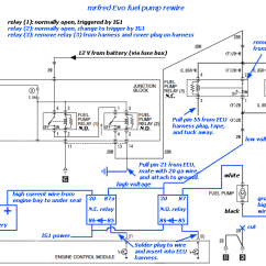 2008 Mitsubishi Lancer Wiring Diagram 3 Wire Stop Start Fuel Pump With High/low Voltage Circuit - Evolutionm And ...