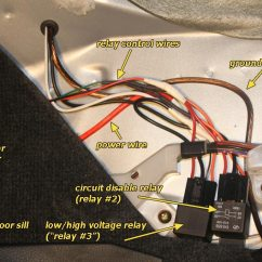 Lancer Wiring Diagram 2000 Dodge Neon Pcm Fuel Pump Wire With High/low Voltage Circuit - Evolutionm Mitsubishi And ...
