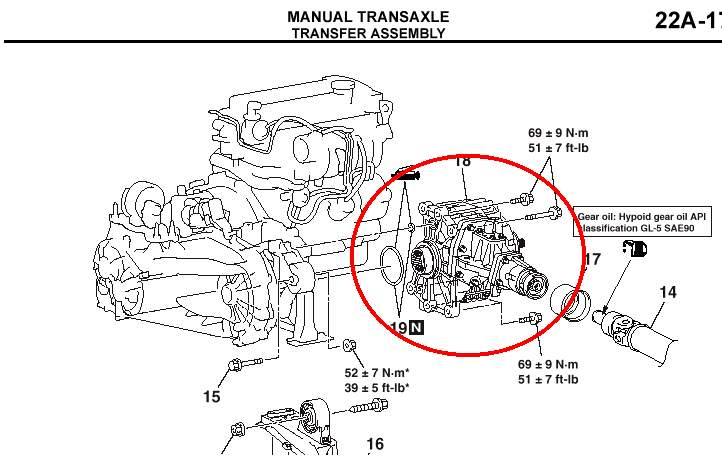 2003 Mitsubishi Lancer Transmission Fluid