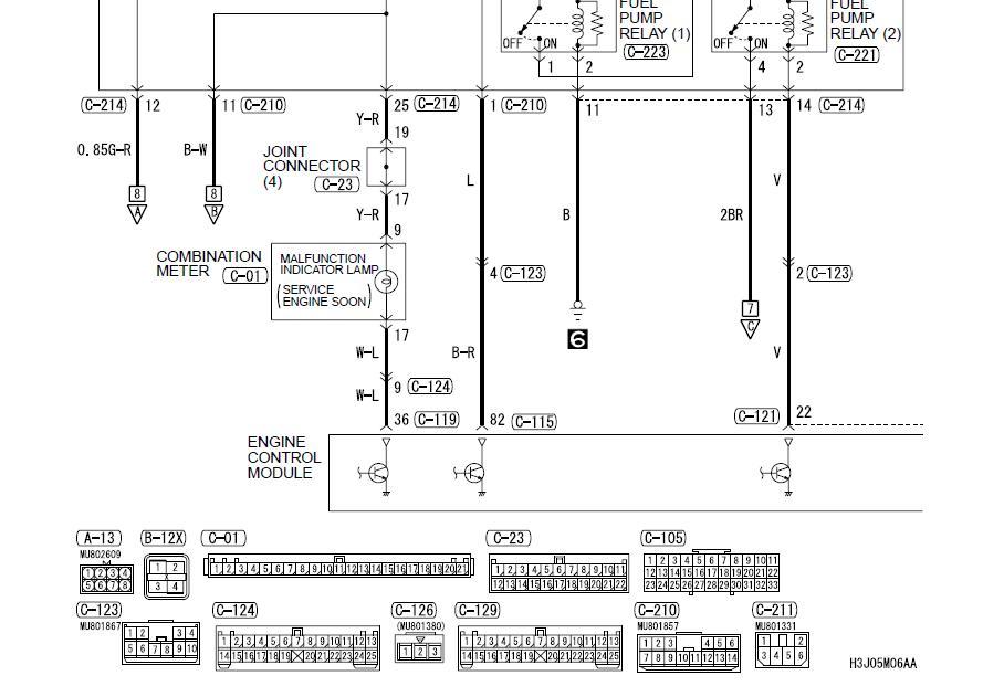 t1 line wiring diagram truck radio evo great installation of mitsubishi 9 rh 6 tempoturn de cable circuit