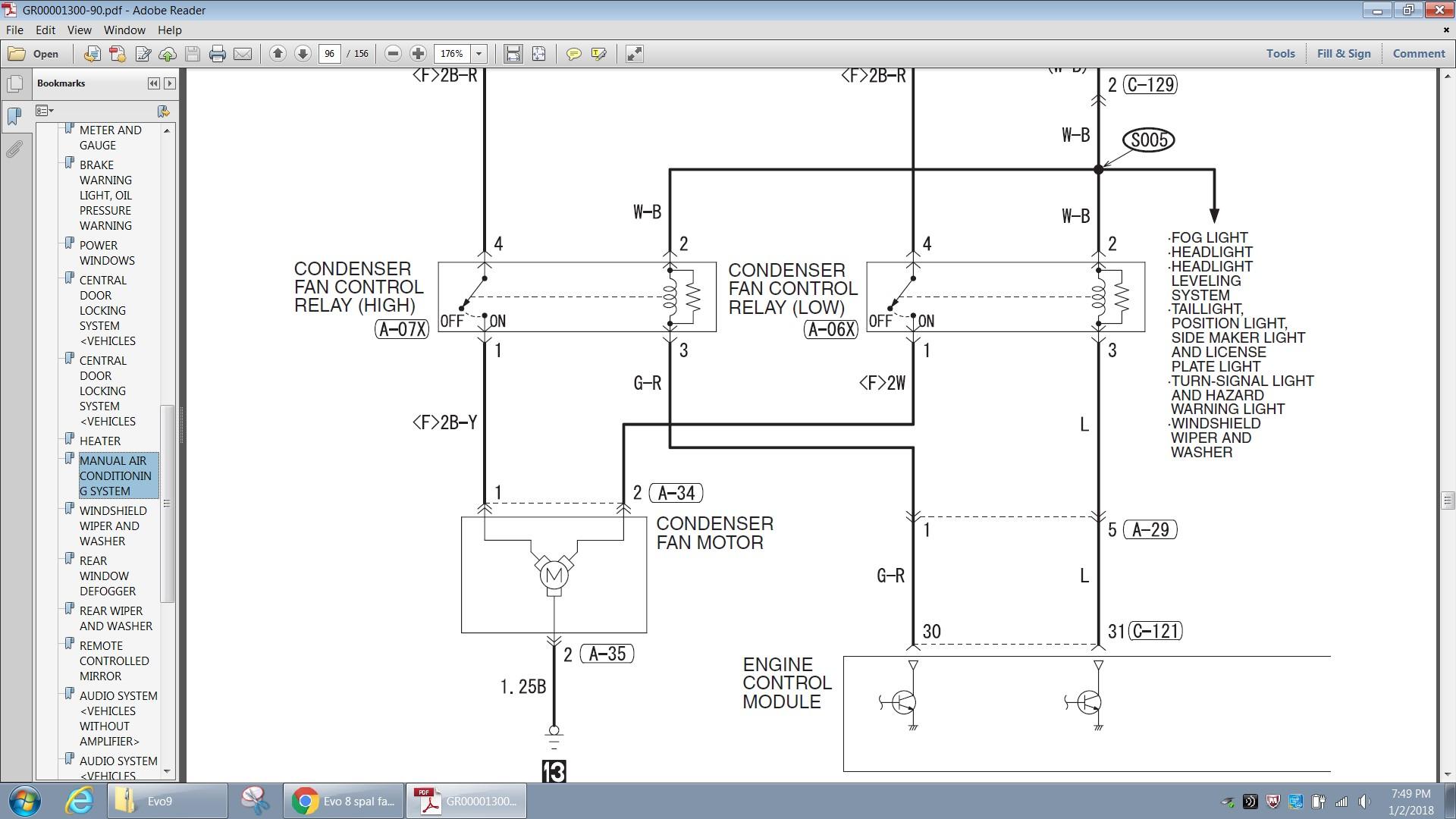 spal electric fan wiring diagram 1997 club car golf cart controller relay