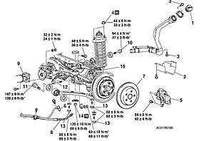2009 Subaru Forester Suspension 2009 Cadillac CTS