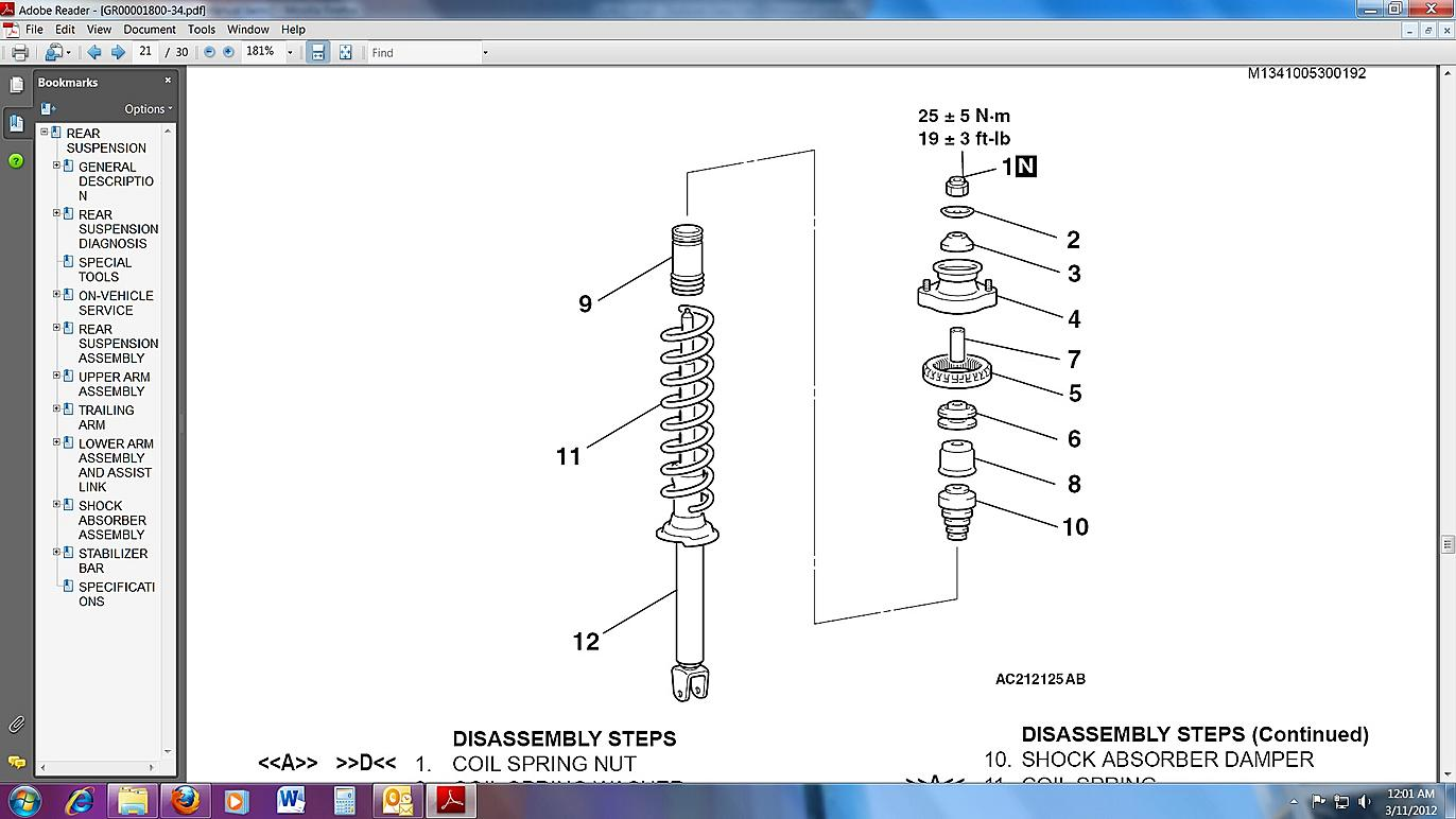 hight resolution of rear suspension clunk pictures rear strut jpg