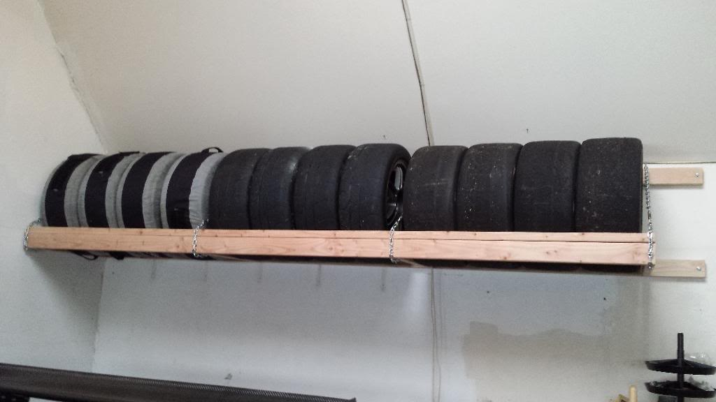 tire storage rack diy evolutionm