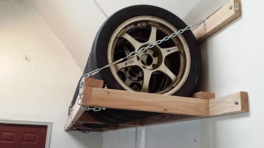 tire storage rack diy