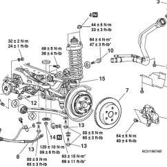 2006 Pt Cruiser Engine Diagram Vauxhall Vectra B Central Locking Wiring Rear Suspension And Torque Specs - Evolutionm Mitsubishi Lancer Evolution ...