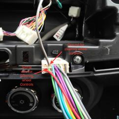 2001 Honda Civic Wiring Diagram Ce Lancer Android Double Din Radio Install Review W/full Working Wheel Controls No Adapter! - Evolutionm ...