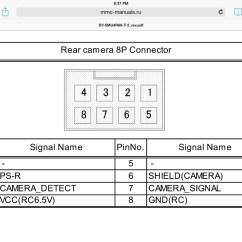 Mitsubishi Outlander Radio Wiring Diagram Generic Semi Auto Handgun Parts Lancer Back Up Camera 47