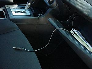 How To Installing Mitsubishi AuxMP3 Cable EvolutionM