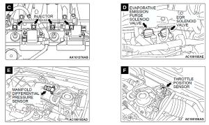 intake manifold diagram  EvolutionM  Mitsubishi Lancer