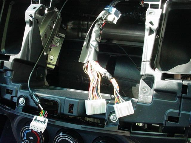 mitsubishi stereo wiring diagram 20w led driver circuit how to: installing aux/mp3 cable - evolutionm lancer and ...
