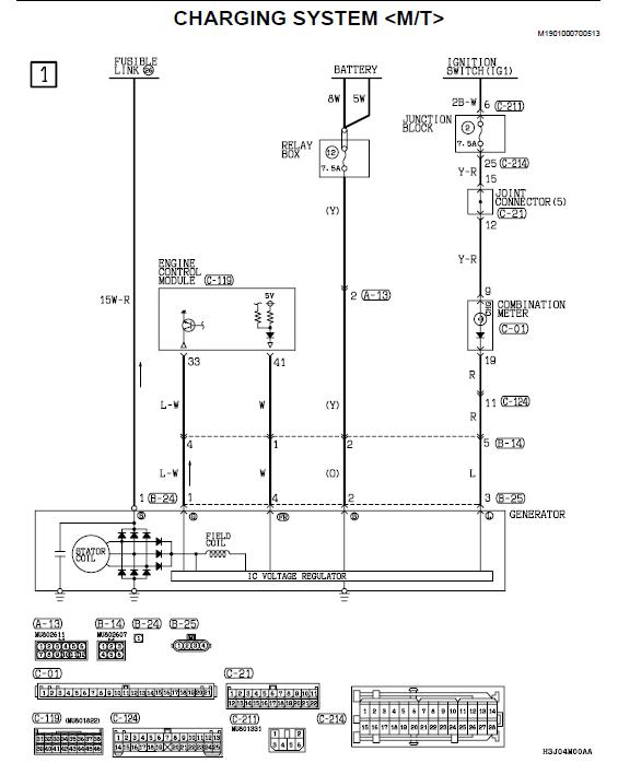 Mitsubishi Lancer Evolution Wiring Diagram Mitsubishi Wiring