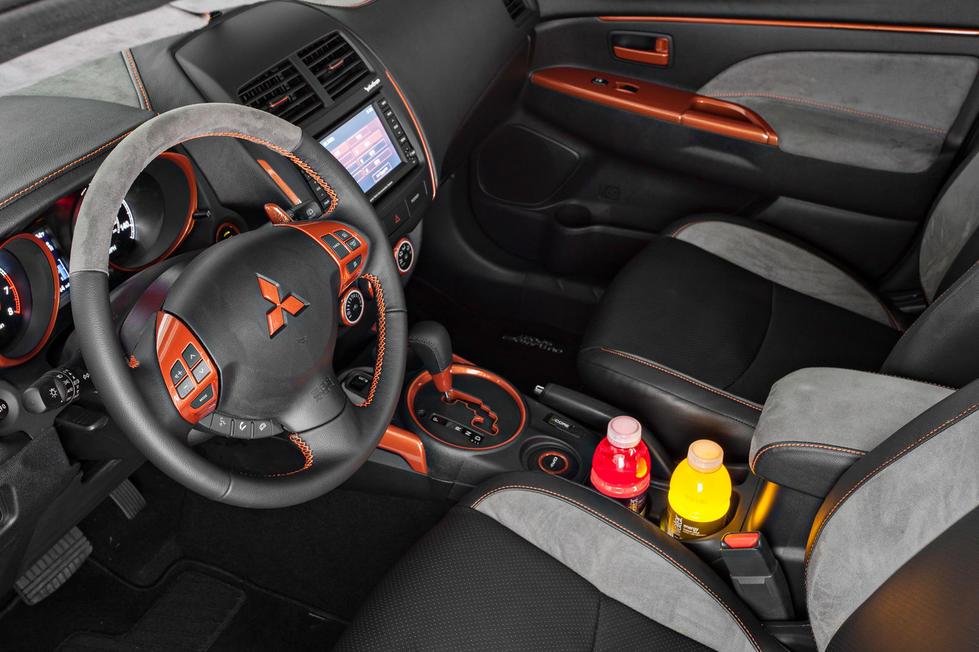 Custom Interior EvolutionM Mitsubishi Lancer And
