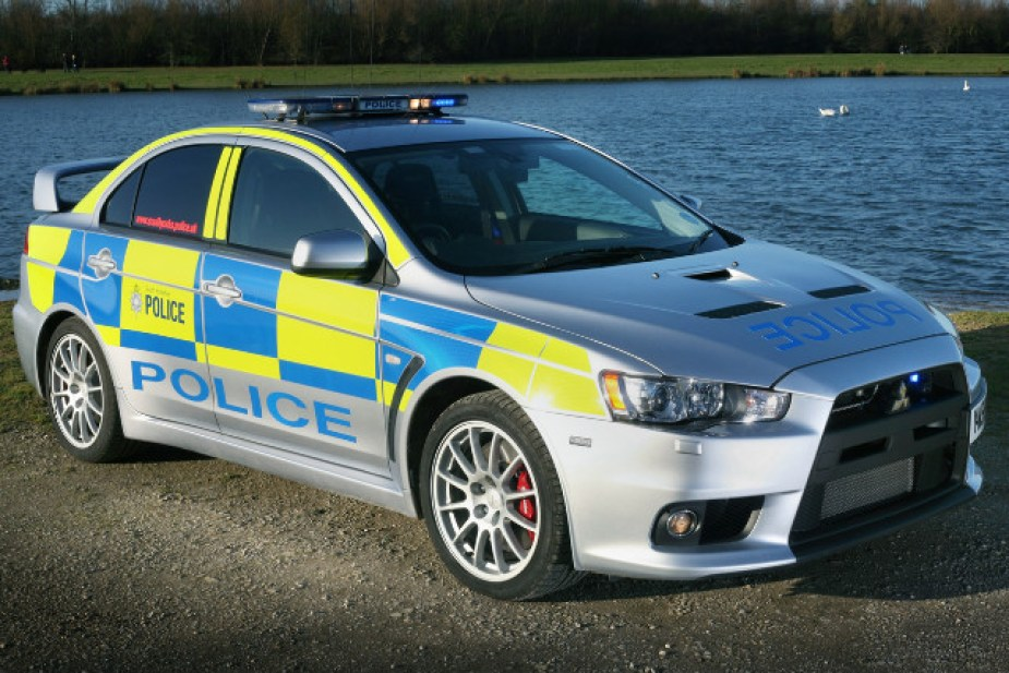 Evo police car UK