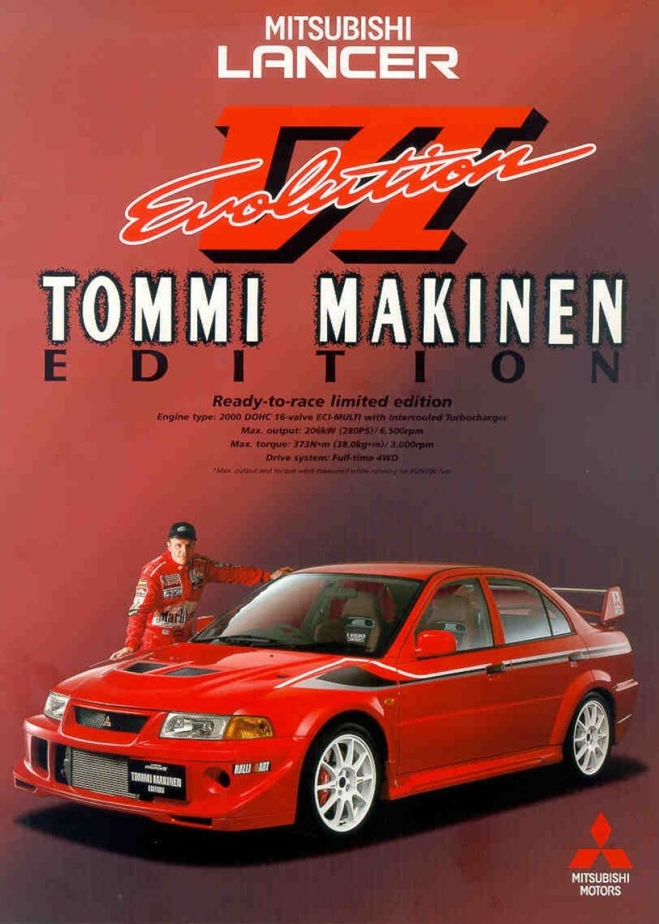 Tommi Mäkinen Evolution VI