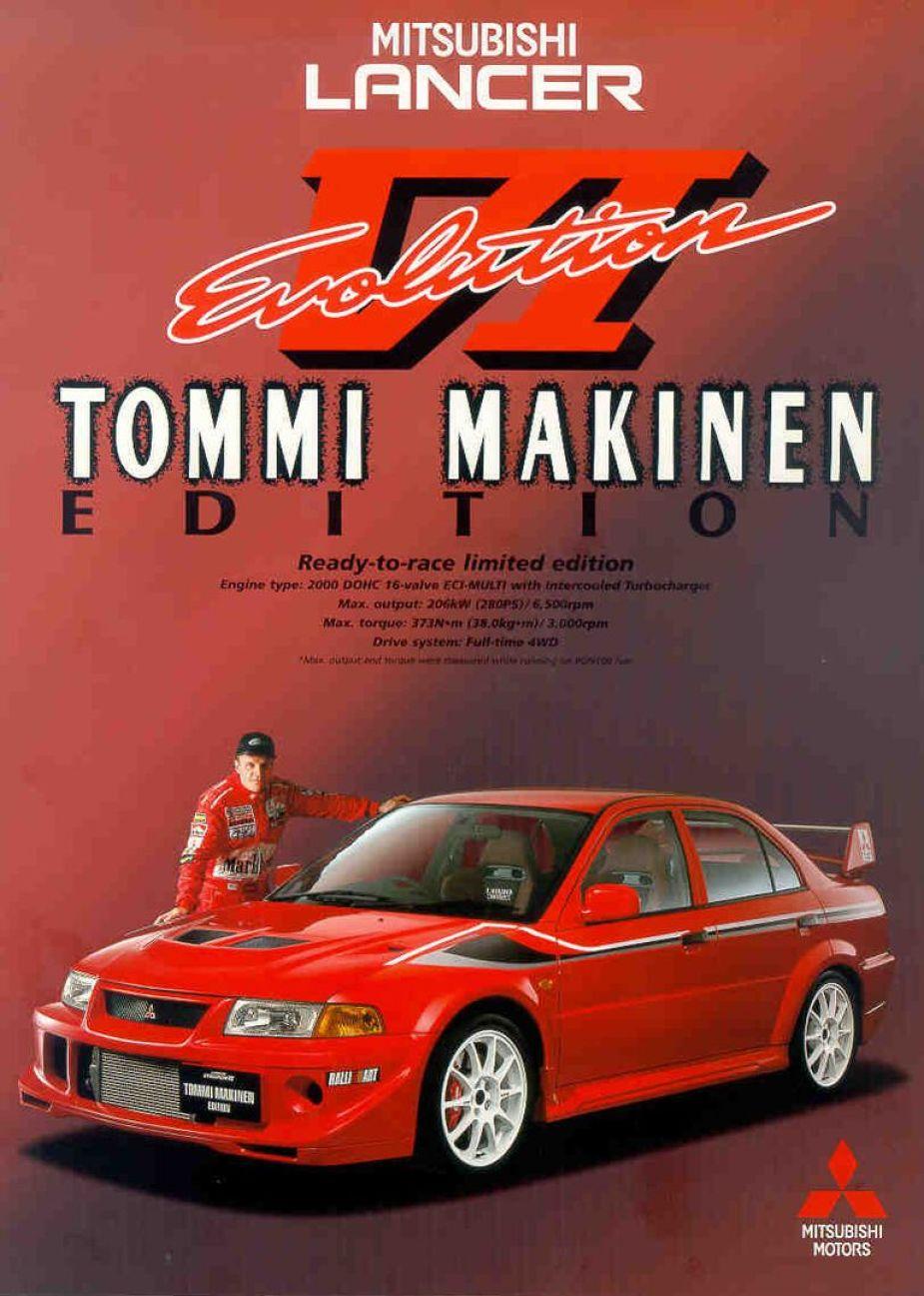 Tommi Mäkinen Evolution VI