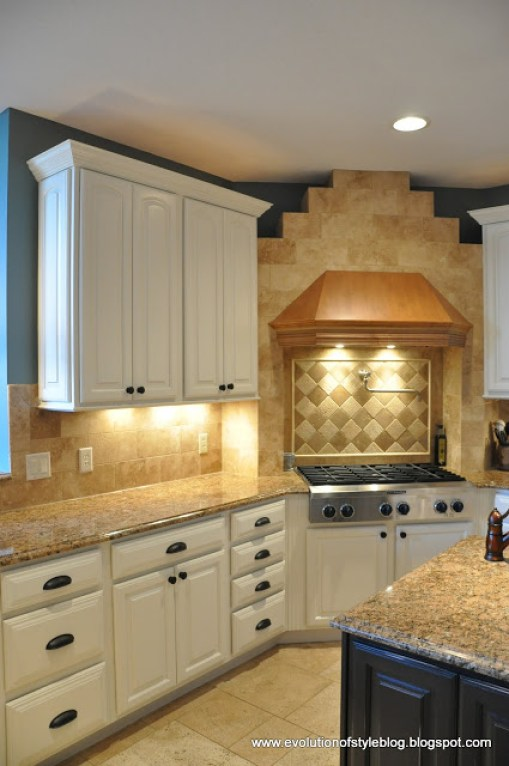 How to paint your cabinets white