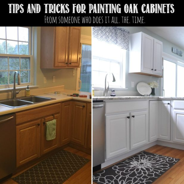 How to prepare oak cabinets for painting for 50cm kitchen cabinets