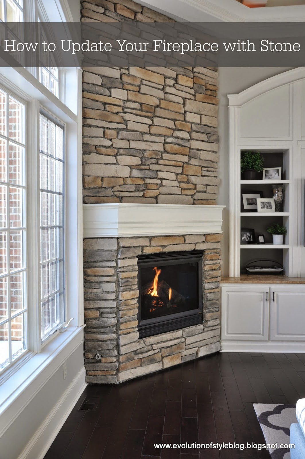 redoing kitchen buy undermount sink how to update your fireplace with stone - evolution of style