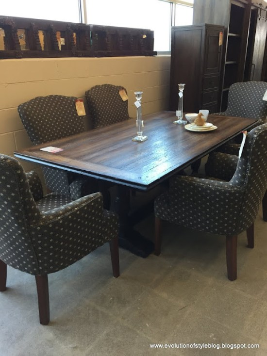 Arhaus Outlet dining room furniture