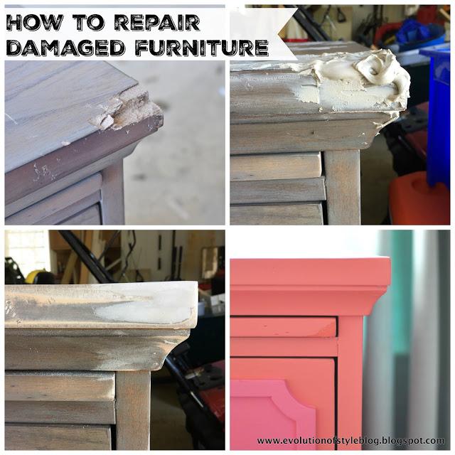 How to Repair Damage Furniture
