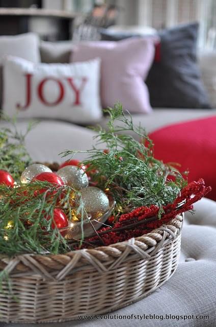 Christmas Greenery Decor