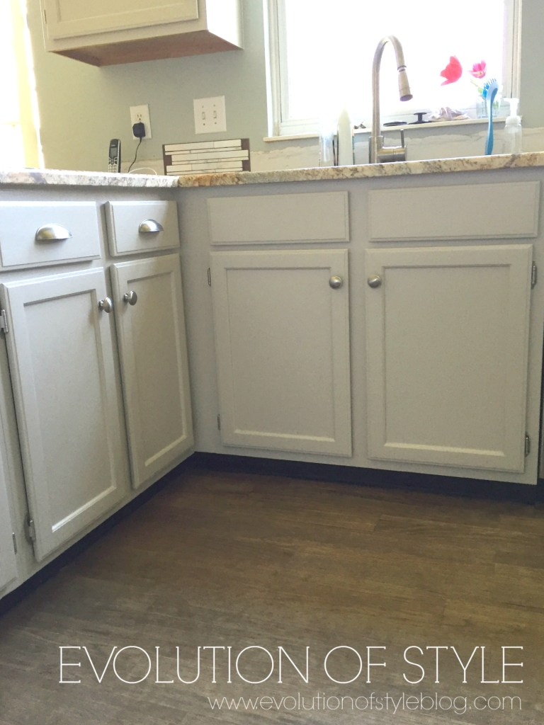 A Revere Pewter Kitchen Cabinet Makeover Evolution Of Style
