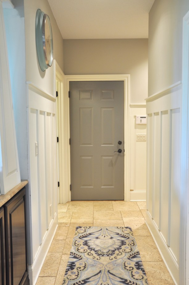 Board and Batten Hallway