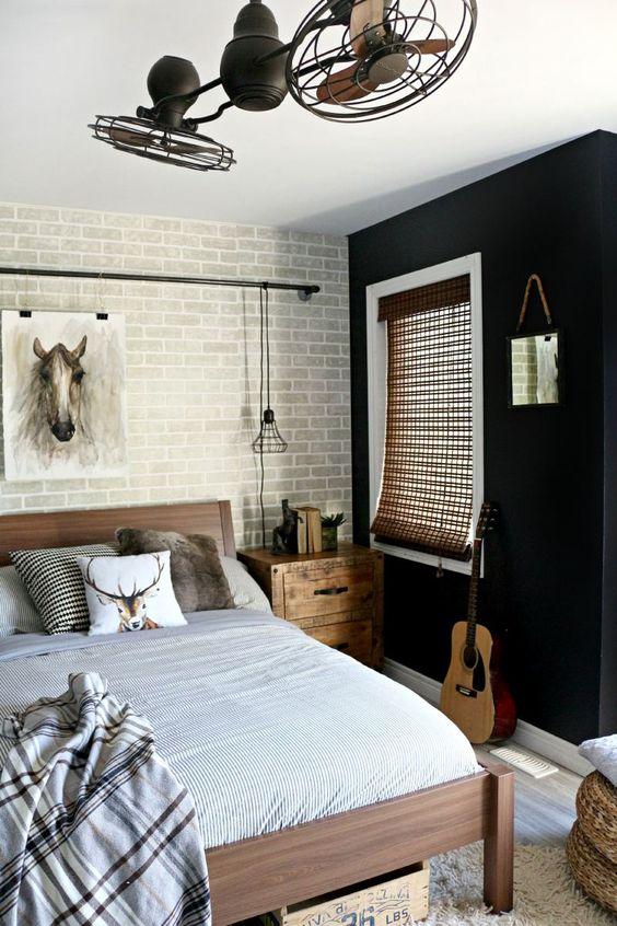 teen-boy-room-brick-wall