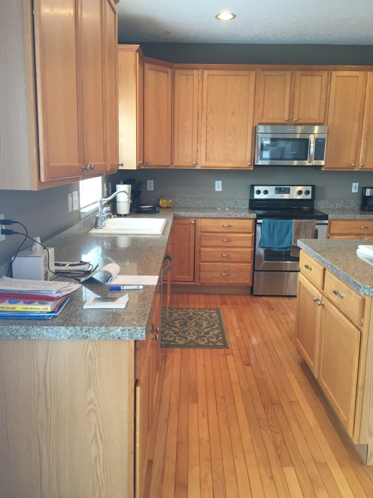 Oak Kitchen Remodel Before And After