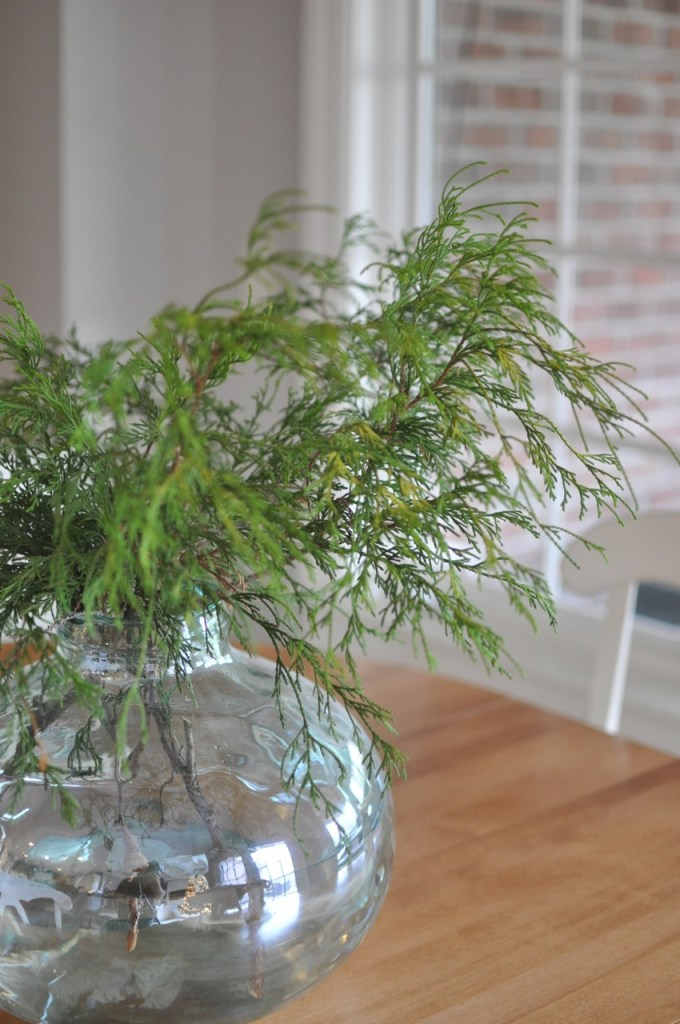 Fresh Greenery Christmas Decor
