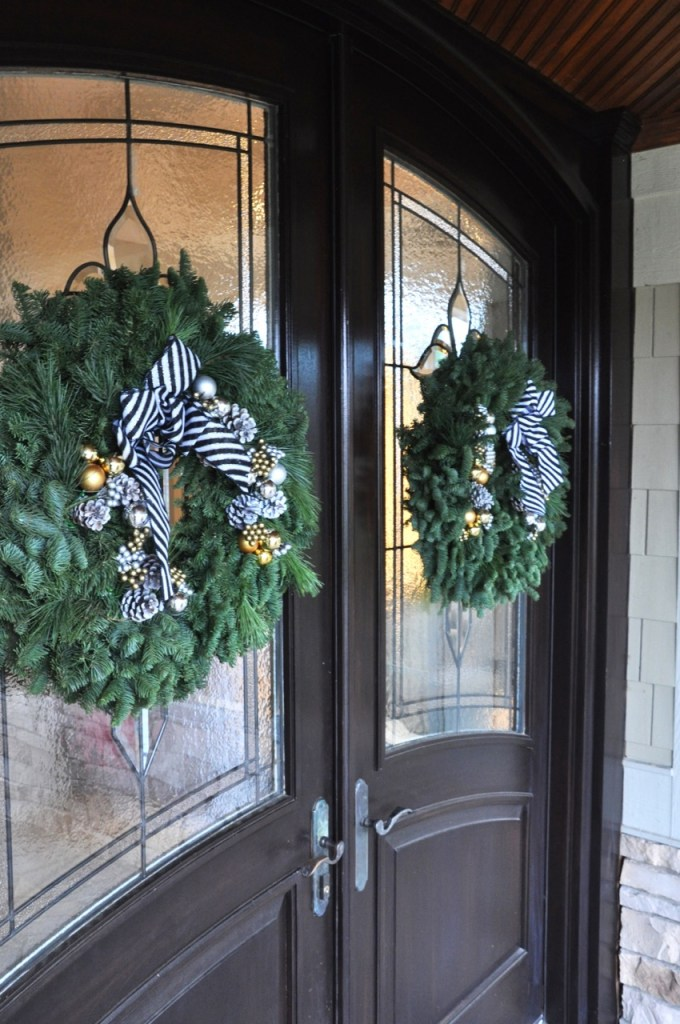 Lynch Creek Farm City Skyline Wreath