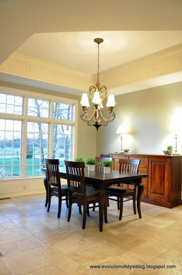 Horizon Gray Dining Room
