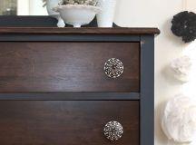 Painting Furniture: Stained and Painted Mix