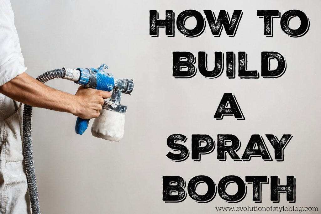 spraying kitchen cabinets pulls how to build a spray booth - evolution of style