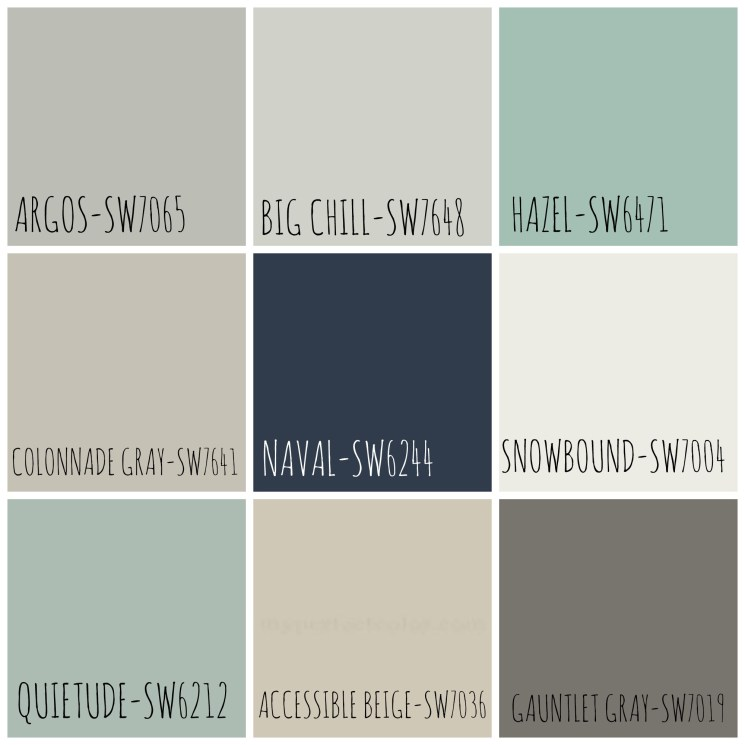 Homearama Color Palette