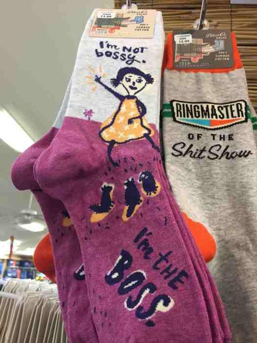 Blue Q Socks - Fun Gift Idea