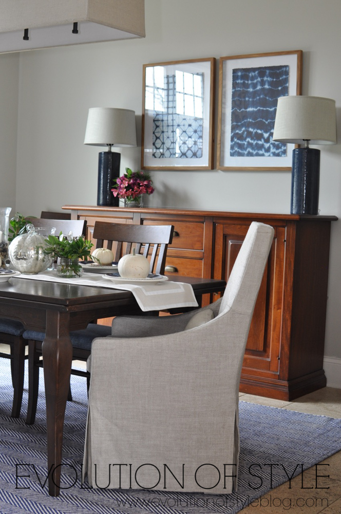 One Room Challenge Navy Dining Room Reveal