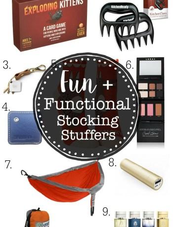 Fun and Functional Stocking Stuffers