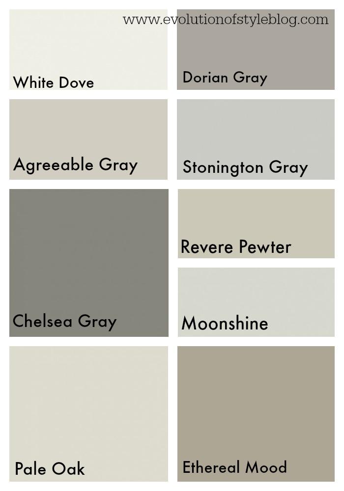 Whole House Remodel Color Palette