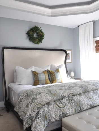 My Holiday Home Tour: Master Bedroom