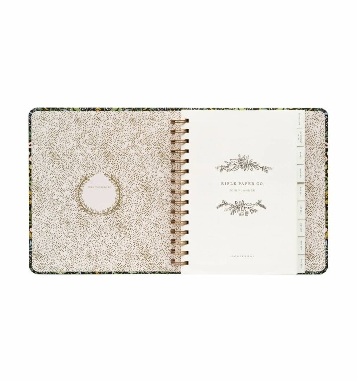 Rifle Paper Company Inside Planner