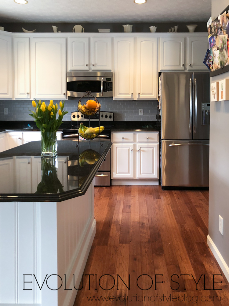 Painted Kitchen Makeover