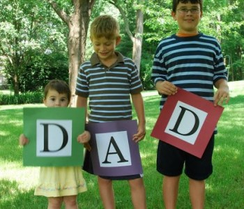 Fathers Day Photo Gift Idea